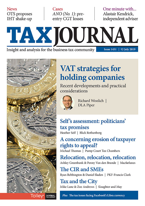 Issue | Tax Journal